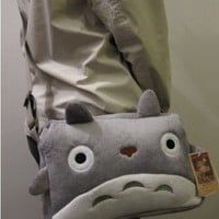 My Neighbor Totoro Plush Shoulder Messenger Hand Bag Purse
