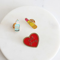 Girl Gang Pin Set