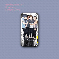 5 Seconds Of Summer Sterio - Print on hard cover for iPhone case and Samsung Galaxy case