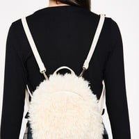 Little Lamb Shaggy Backpack