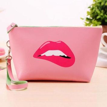 New Fashion Cute Cosmetic Makeup Bag Purse Wash Organizer Pouch Pencil Case Traveling Bags Popular