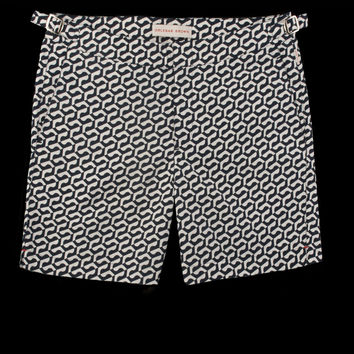 UNIONMADE - Orlebar Brown - Bulldog Arroyo Mid Length Swim Short in Navy