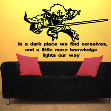 Best Star Wars Wall Quotes Products on Wanelo