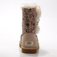 UGG Women Fashion Wool Snow Boots Half Boots Shoes