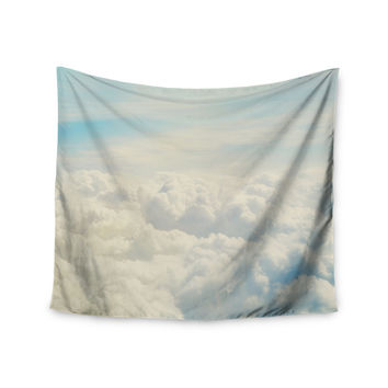 "Chelsea Victoria ""Life Is But A Dream"" Nature Blue Wall Tapestry"