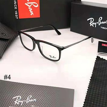 RayBan plate men's and women's glasses frame full frame large face optical frame #4