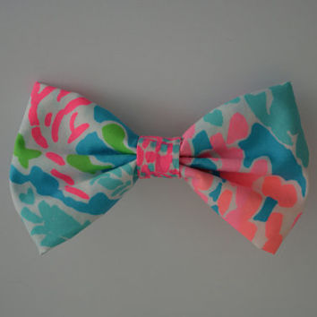Lilly Pulitzer Let's Cha Cha Hair Bow