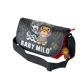 Baby Milo - Black Multi-Purposes Messenger Bag / Shoulder Bag