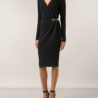 Lanvin V-neck Dress - Hirshleifers - Farfetch.com
