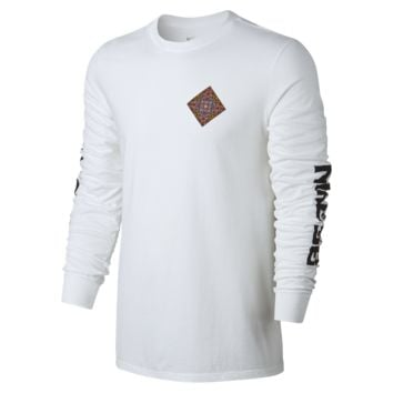 Nike SB Stained Glass Men's T-Shirt Size Small (White)