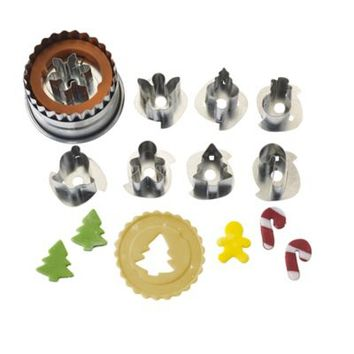 Mini Christmas Cutters in cookies and pastry cutters at Lakeland