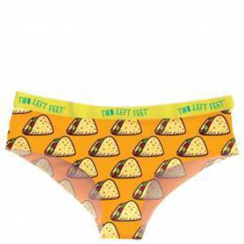 Two Left Feet Underwear Women's Hipsters - TACO TUESDAY