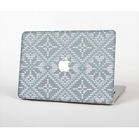 "The Knitted Snowflake Fabric Pattern Skin Set for the Apple MacBook Pro 15"" with Retina Display"