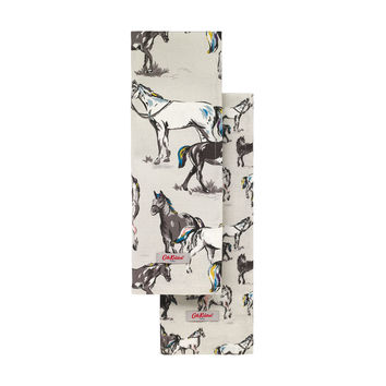 Wild Horses Set of Two Tea Towels | New In Home | CathKidston