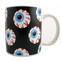 EYEBALL PRINT MUG. - APARTMENT