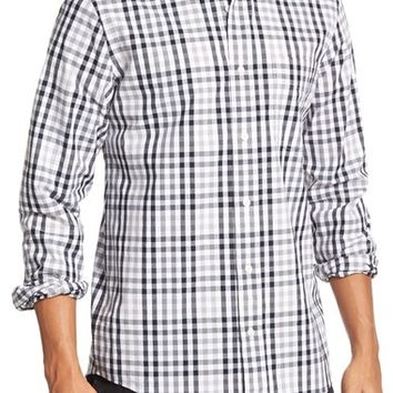 Men's Jack Spade 'Mattingly' Trim Fit Gingham Sport Shirt,