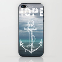 Hope Anchor iPhone & iPod Skin by Ryan Johnson | Society6