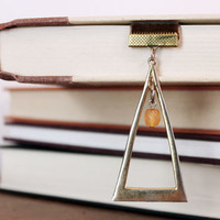 Triangle Ribbon Bookmark