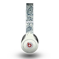The Vintage Tan & Black Top Swirled Design Skin for the Beats by Dre Original Solo-Solo HD Headphones