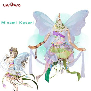 Kotori Minami  Cosplay Love Live! School Idol Project Flower Fairies Idolized Awakening Uwowo Costume lovelive Flower Fairy