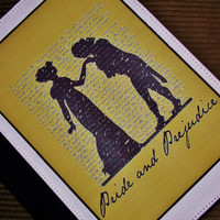 Pride And Prejudice iPad Case Cover. Fits iPad 2 and 3. Pride And Prejudice Jane Austen Inspired.