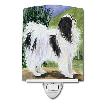 Japanese Chin Ceramic Night Light SS8028CNL