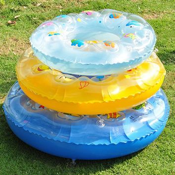 Baby Swimming Ring Inflatable cartoon double layer Pool Float Baby Summer Water Fun Pool Toy Kids Swimming in the pool