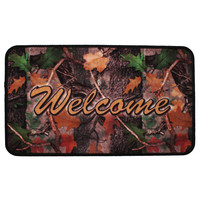 "18""x30"" Door Mat-welcome CB Camo"