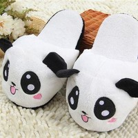 Panda Slipper Pantoufle Femme Women Shoes Woman House Animal Warm Big Animal Woman Fun