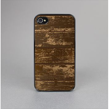 The Old Worn Wooden Planks V2 Skin-Sert Case for the Apple iPhone 4-4s