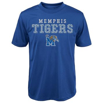 Memphis Tigers Fulcrum Performance Tee - Boys 8-20, Size: