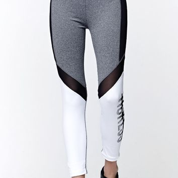 Young & Reckless Come Thru Tactic Leggings - Womens Pants - Grey