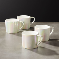 legend iridescent coffee mugs set of 4