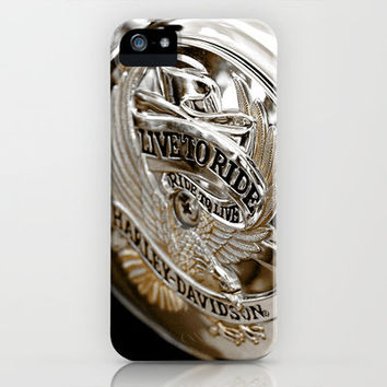 Harley Davidson Live to Ride iPhone & iPod Case by HoneybeeDawnPhotography