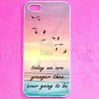 Forever young quote Iphone 5 Case - For Iphone 5, iPhone 5 cover