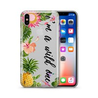 I'm A Wild One - Clear TPU Case Cover