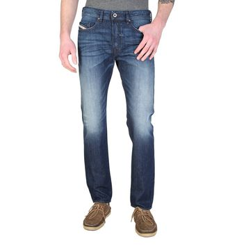 Diesel BUSTER Men's Faded Blue Jeans
