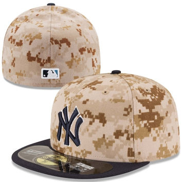 New York Yankees New Era Memorial Day 59FIFTY Fitted Hat – Camo