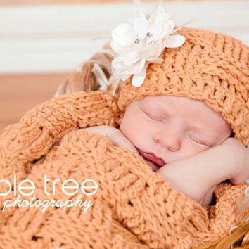 Crochet Pattern for Basket Weave Cocoon and Bowl (hat NOT included) - Newborn and size 0-3 months - Welcome to sell finished items