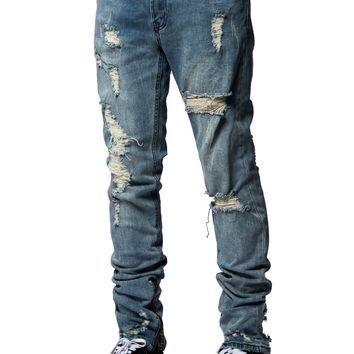 Colfax Tapered Jeans - Indigo Blue