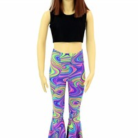 Kids Glow Worm Bell Bottoms