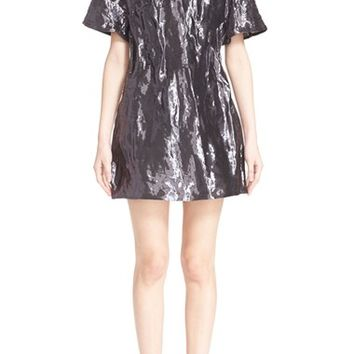 ELLERY 'Over the River' Woven Metal Dress | Nordstrom