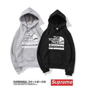 Hoodies Alphabet Print Cotton Couple Strong Character Hats [1016606720036]