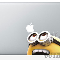 Macbook Decal Sticker Skin For Macbook Pro Sticker Decal Skin For Macbook Air Decal Sticker 13 15 17 Despicable Me Minion dt
