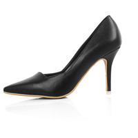 Women Classic Solid Pointed Toe 8cm Stiletto Heel Pump