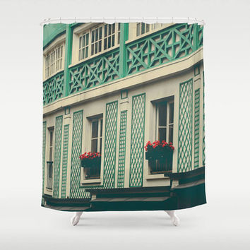 Paris curtain - bathroom decor