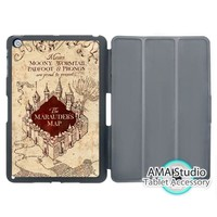 Harry Potter Marauders Map Stand Smart Cover Case For Apple iPad Mini 1 2 3 4 Air Pro 9.7 Wake UP Sleep