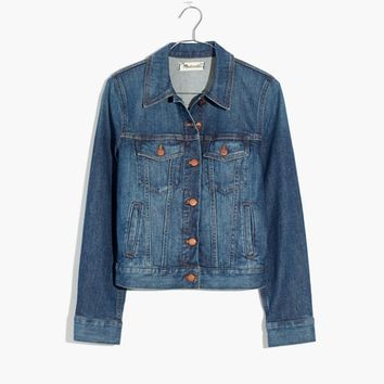 The Shrunken Stretch Jean Jacket: Eco Edition