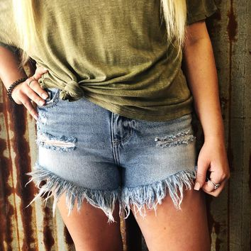 Made For You Denim Shorts