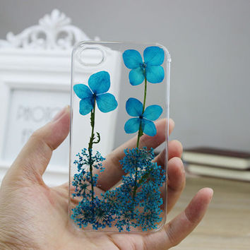 iphone 4 case iphone 4s case Iphone 5s case  iphone 5 case Dried Dry Lucky Grass blossomsPressed Real Flower resin  iphone 5c cases